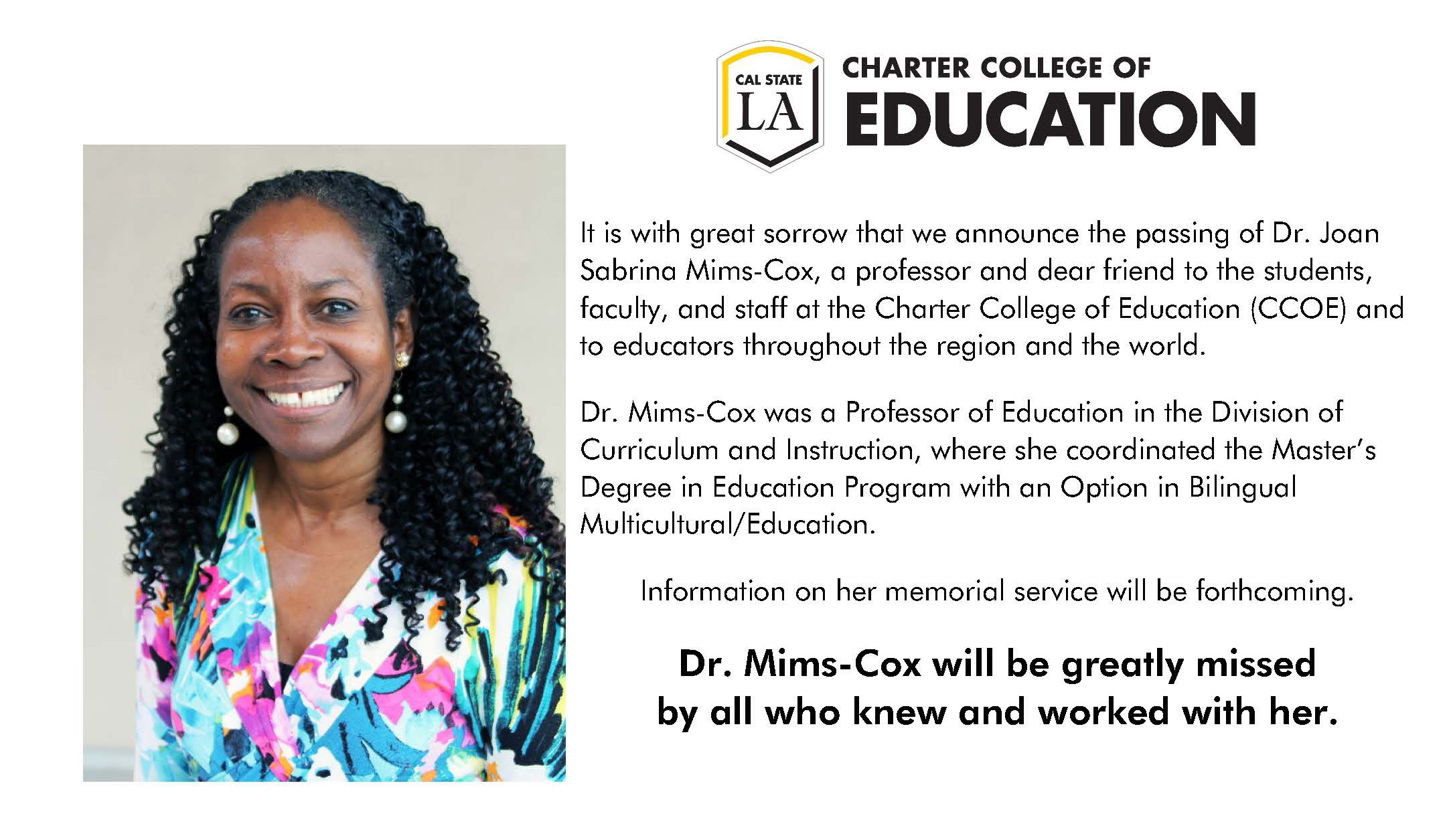 Picture of Sabrina Mims-Cox