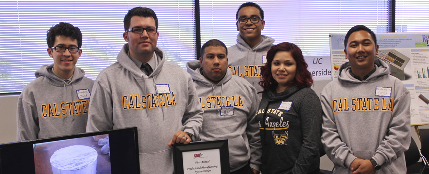 Cal State LA Westec Team takes 3rd place at 2015 Product & Manufacturing Contest