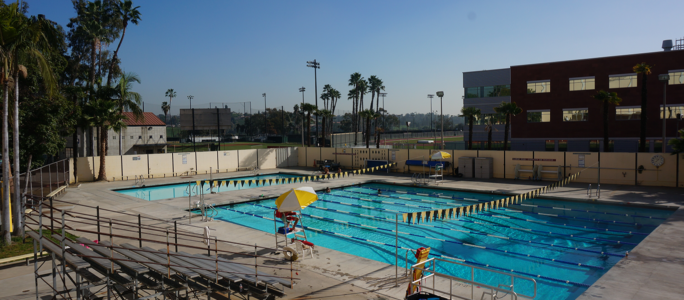 Photo of Pool at Cal State LA