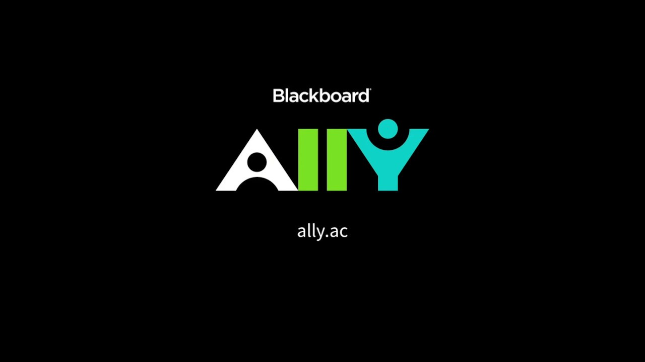 Video of Ally features for students on YouTube