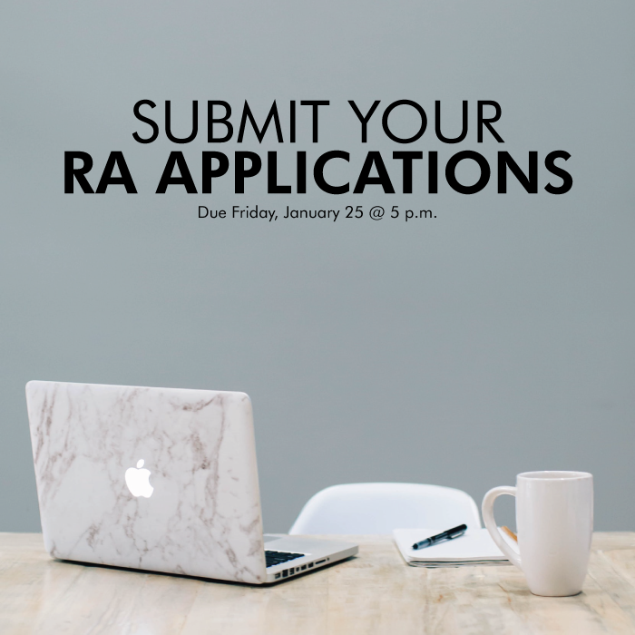 Submit Your RA Applications