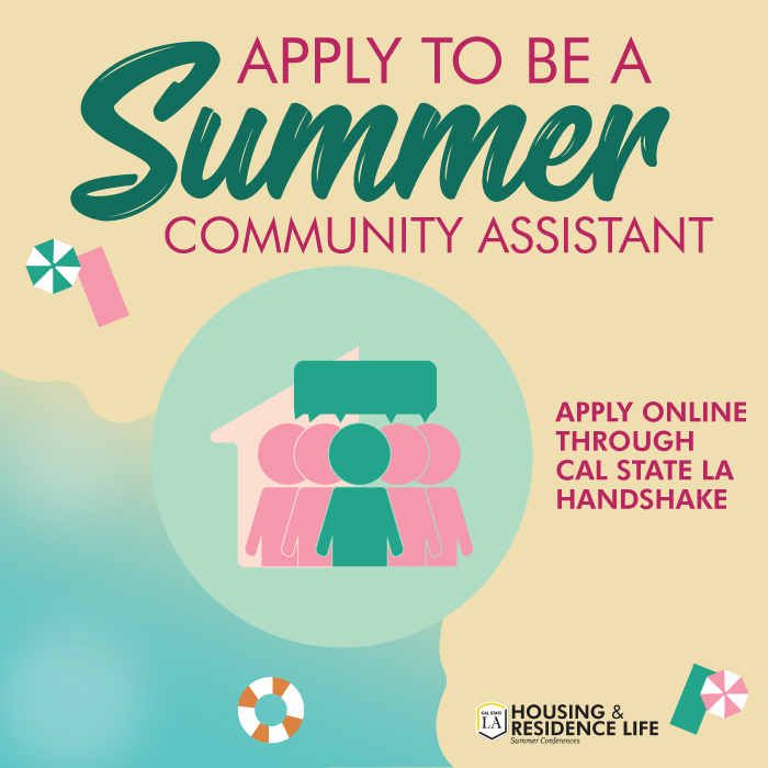 Apply To Be a Summer Community Assistant