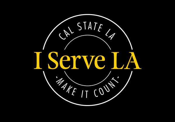 I Serve LA Make It Count logo