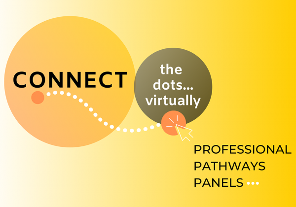 Connect the Dots Virtually Professional Pathways Panels