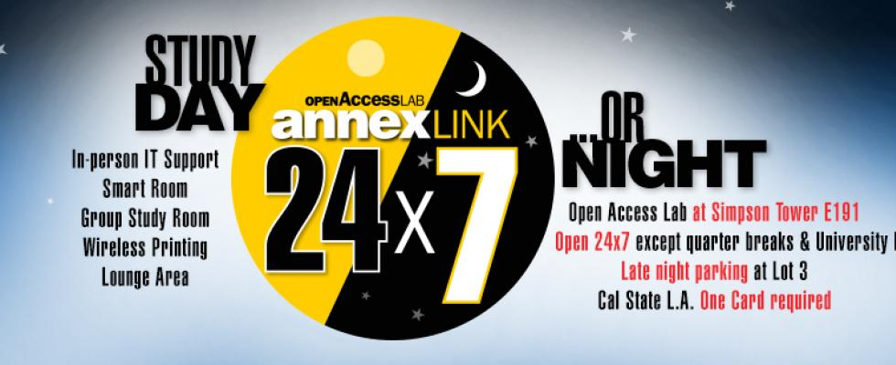 24/7 Open Access Lab