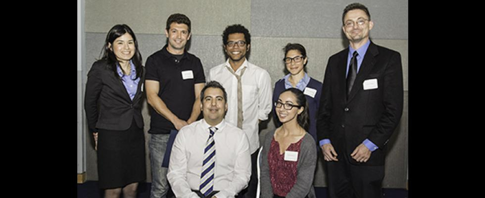Cal State L.A. representatives for CSU Student Research Competition