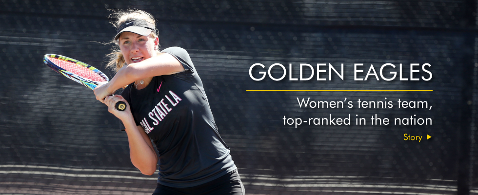 Cal State LA women's tennis team is top ranked in the nation