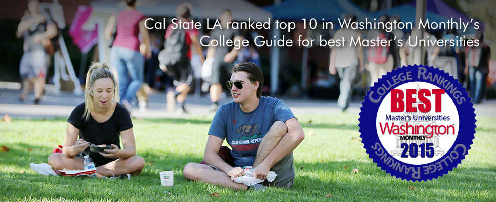 Cal State L A ranked top 10 nationally according to Washington Monthly