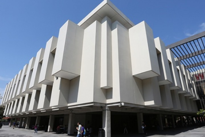 exterior of University Library