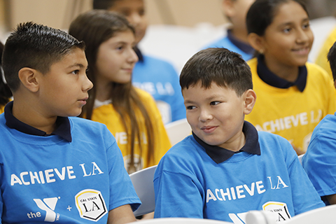 Mayor Garcetti Joins Cal State La Ymca For Achieve La Launch Cal