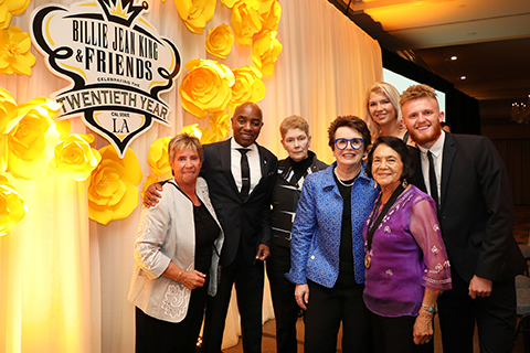 BIllie Jean King and Friends Gala