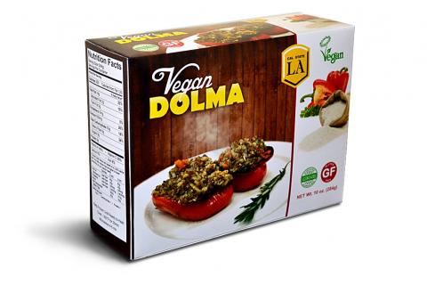 packaging of new food product