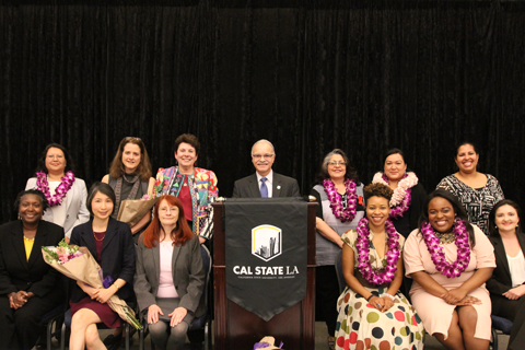 Cal State La Honors 12 Distinguished Women For Dedication And Service Cal State La