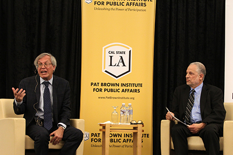 Erwin Chemerinsky in conversation with Raphael Sonenshein.