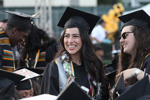 Graduate from Cal State LA's Class of 2017.