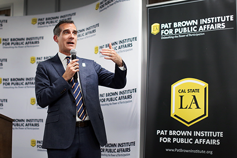 Mayor Garcetti at Civic U 2