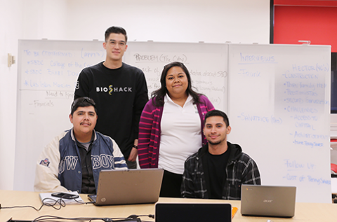 Small Business Strong project team at Cal State LA