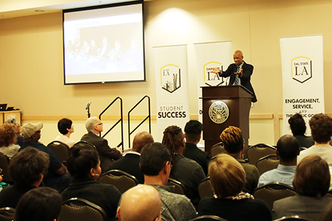 Terrence Roberts is guest speaker at Mind Matters Speaker Series.