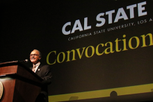 President Covino at Fall Convocation 2017