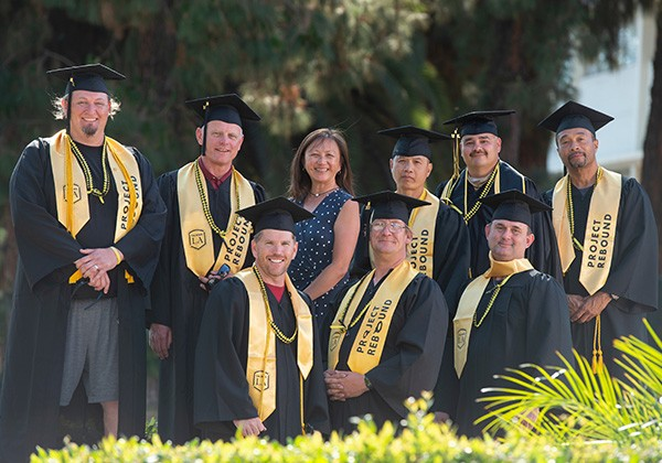 The first graduating classes of students from Cal State LA's Prison Graduation Initiative