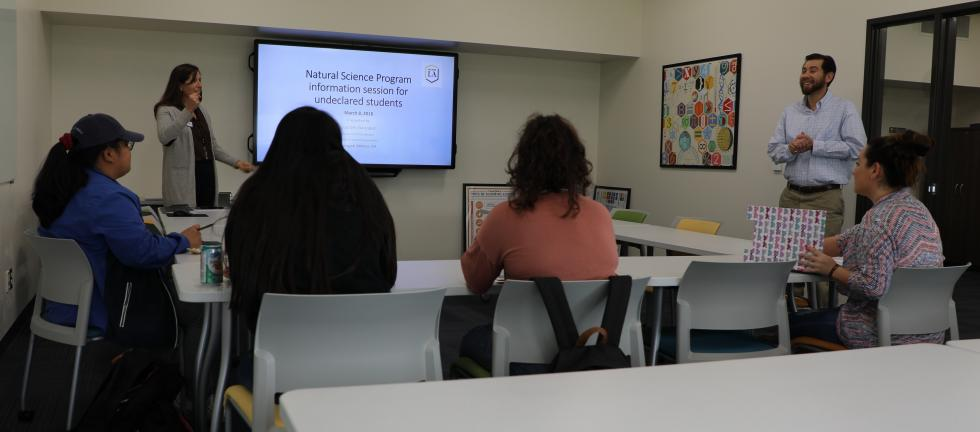 NATS information session for undeclared majors