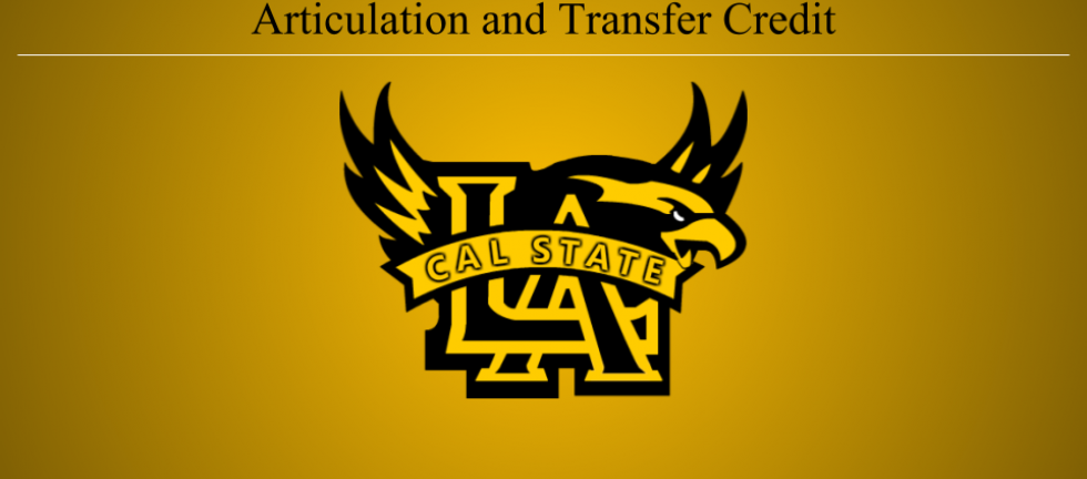 Articulation and Transfer Credit