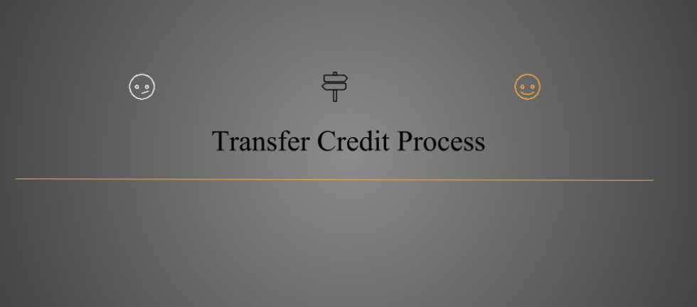 Transfer Credit Process