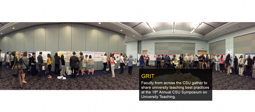 Faculty from across the CSU gather to share university teaching best practices at the 18th Annual CSU Symposium.
