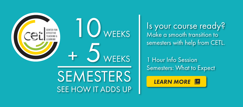 Semester: What to Expect. Learn More.