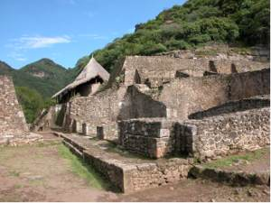 Malinalco, the eagle's nest, an Aztec city.