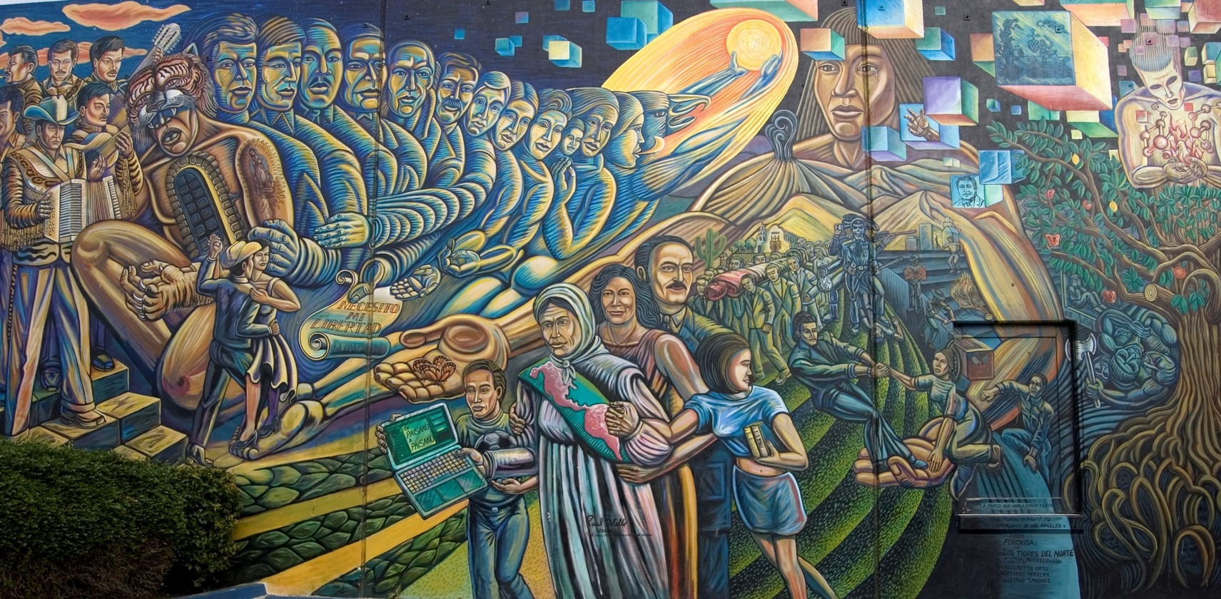 News release csula cal state l a los angeles csu for Mural decorativo pared