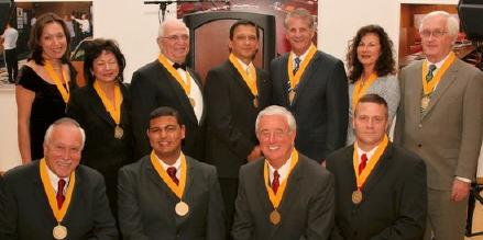 photo of alum gala honorees