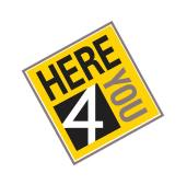 image of Here 4 You logo.