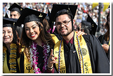 Students celebrate at the 67th Commencement.