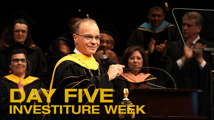 Investiture Week: Day Five recap