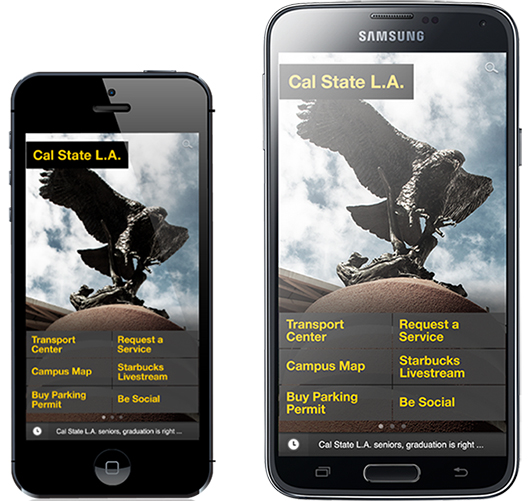 Download the Cal State L.A. mobile app