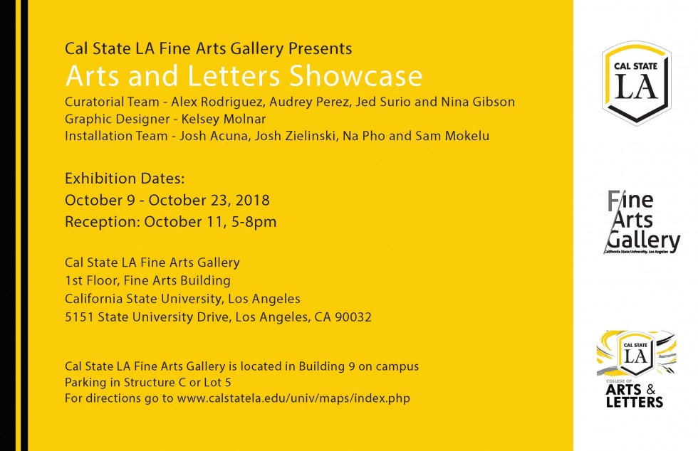 College of Arts & Letters Showcase