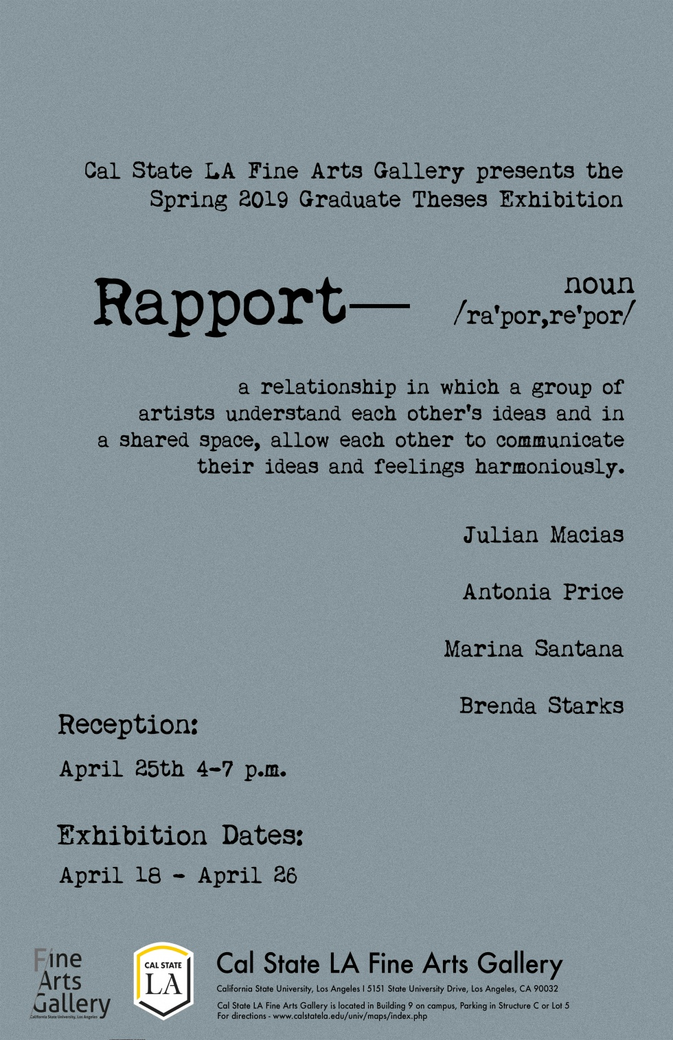 Grad Theses Exhibition