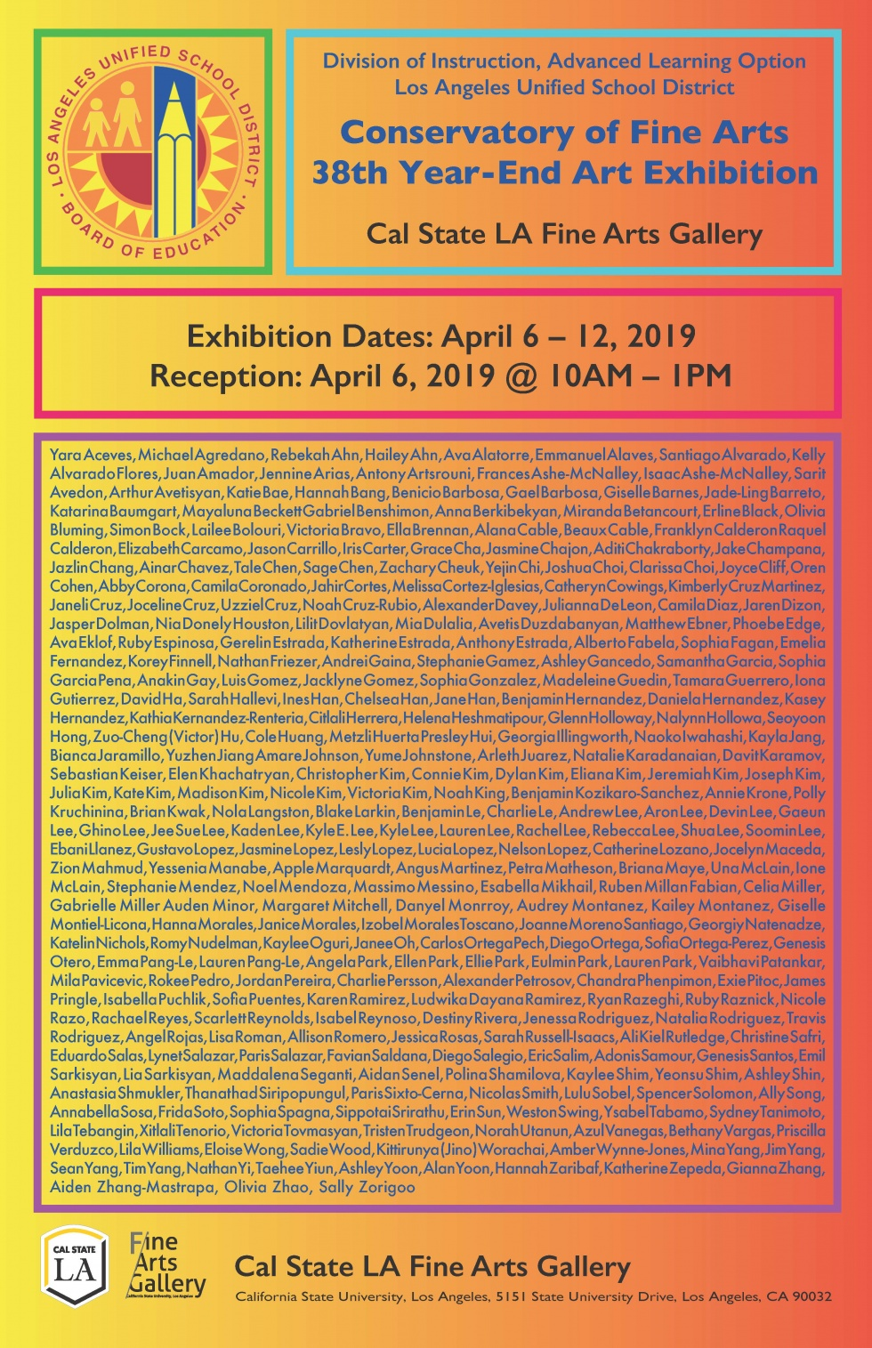 LAUSD 38th Children's Exhibition