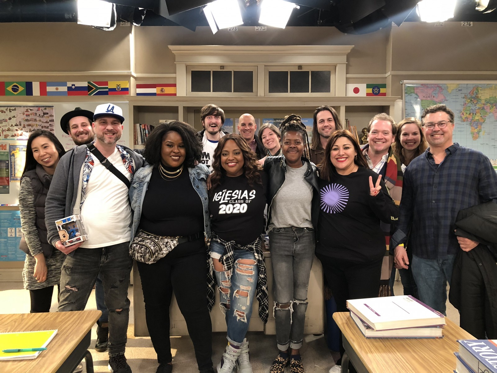 MFA Acting Cohort with Sherri Shepherd
