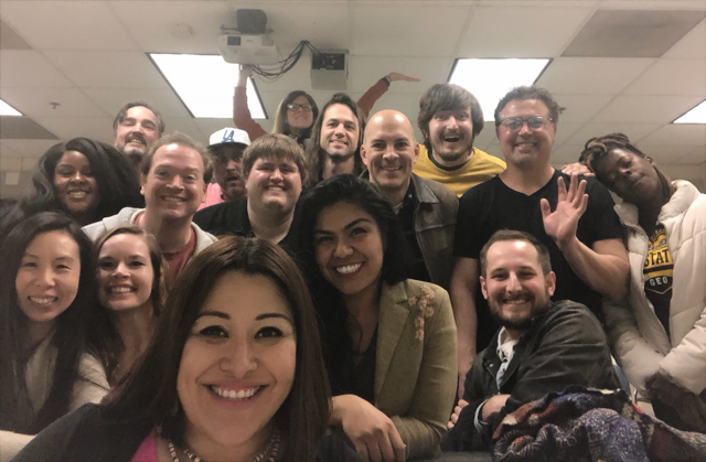 Actress Laura Vallejo Visits MFA Acting Cohort