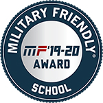 Military Friendly School MF '19-20 Award