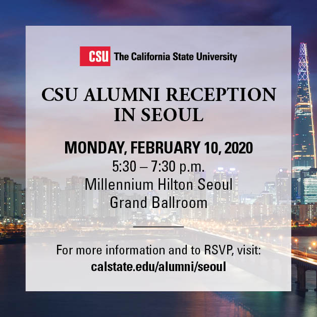 CSU Alumni Reception in London on November 25