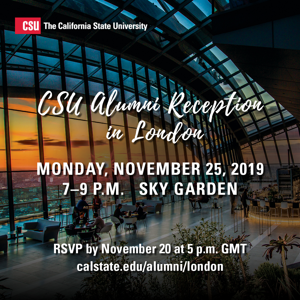 CSU Alumni Reception in London