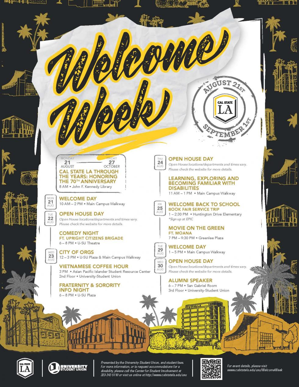 Link to Welcome Week Fall 2017