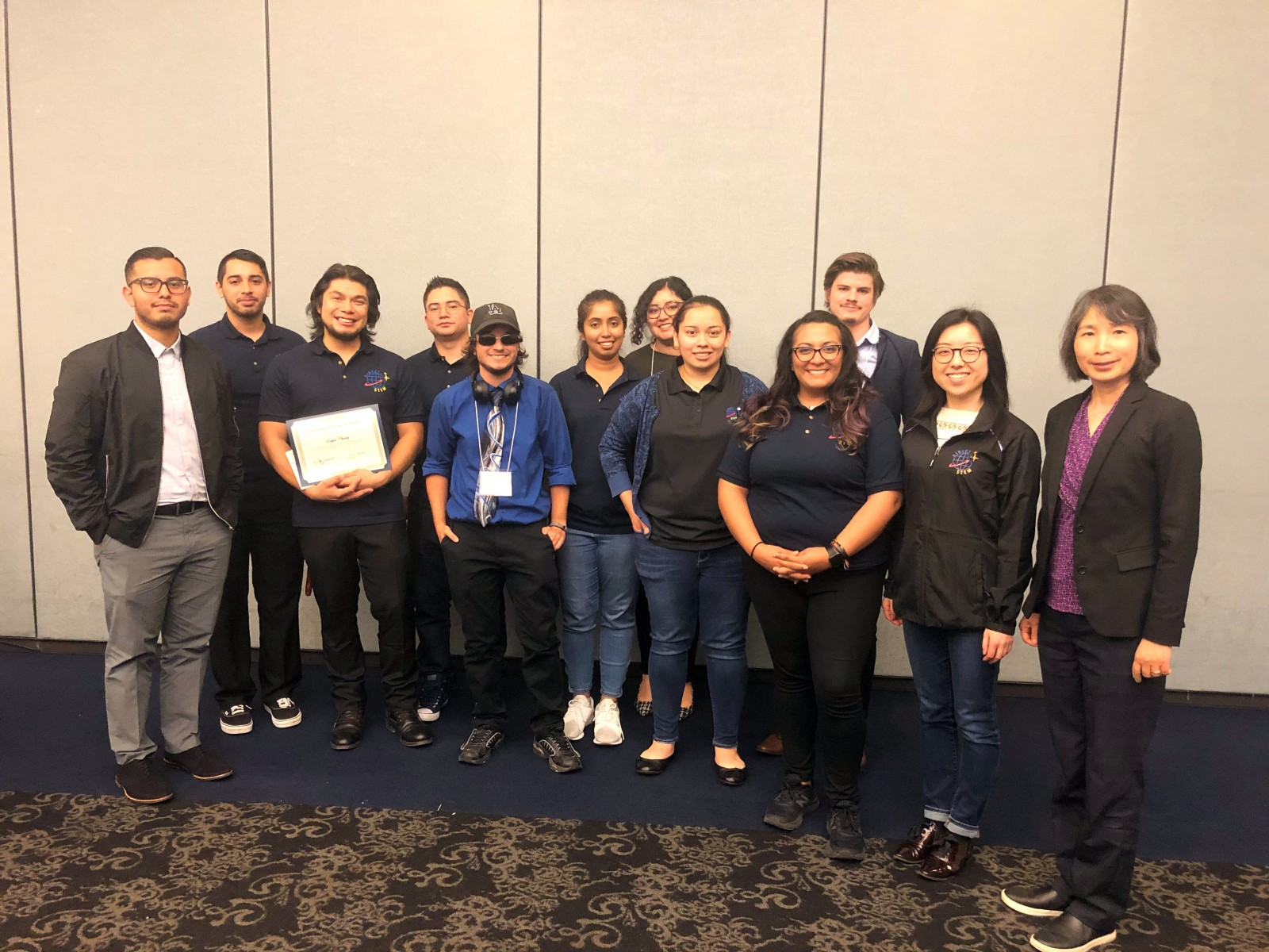 Faculty and students at the 28th Annual Cal State LA Student Symposium on Research, Scholarship, and Creative Activities.