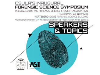 Cal State L.A. Forensic Science Symposium 2015