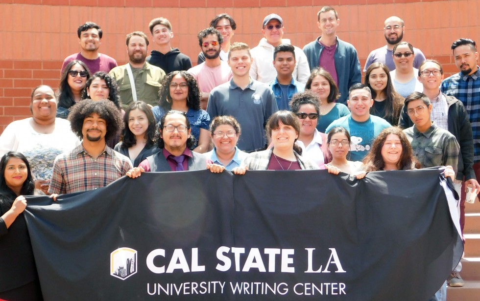 Group photo of the Writing Wing of CAS
