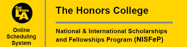 Honors College and NISFeP Banner
