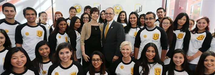 SHAC with President Covino and Debbie Covino